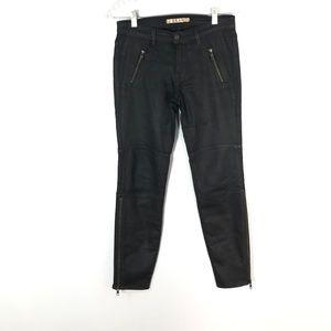 J Brand Stealth BlackCoated SkinnyJeans   Size: 26